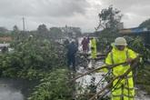 Một huyện miền núi ở Huế có khoảng 100 nhà bị tốc mái do bão số 9
