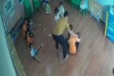 Đình chỉ giáo viên để điều tra vụ phụ huynh tát bé 2 tuổi trong lớp học