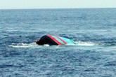 Quảng Trị: Tàu chìm khiến 2 người mất tích