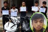 Tướng cướp 16 tuổi cầm đầu băng nhóm chém người, cướp xe ở Sài Gòn