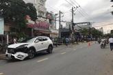 Nữ sinh và tài xế Grab chết thảm sau va chạm với ô tô ở Bình Dương