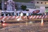 Truy xét xe container cán chết 2 người trong mưa nhưng bỏ đi