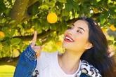 """Phạm Hương chăm được một khu vườn trĩu quả bên Mỹ mà bất cứ """"nông dân thành phố"""" nào cũng phải mê"""