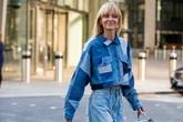 Phối đồ jeans dạo phố
