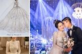 Nhà thiết kế tiết lộ giá váy cưới của vợ Duy Mạnh