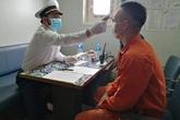 Mười thuyền viên trở về từ Trung Quốc không có biểu hiện nghi nhiễm COVID–19