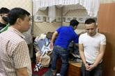 Gần 100 cảnh sát vây ráp đối tượng tàng trữ ma túy cùng hàng nóng