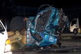 Thêm 2 người tử vong trong vụ tai nạn kinh hoàng giữa xe khách và xe tải ở Bình Dương
