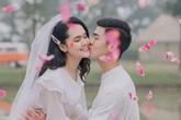 Ảnh cưới tuyệt đẹp của cầu thủ Duy Mạnh và hotgirl Quỳnh Anh