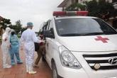 Một lao động Nghệ An cùng chuyến bay có người nhiễm COVID-19 được chuyển tuyến vì sốt cao