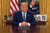 Làn sóng hoảng sợ tháo chạy, tổng thống Donald Trump đối mặt tình huống khẩn cấp