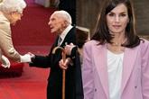 Nữ hoàng Anh đeo găng bắt tay người lạ, Hoàng hậu Tây Ban Nha đi xét nghiệm COVID-19