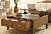 Nếu bạn có một căn nhà nhỏ thì đừng bỏ qua những mẫu kệ để đồ kết hợp bàn ghế vừa đẹp vừa tiện dụng này