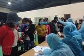 Hà Tĩnh cách ly 136 người từ Lào về Việt Nam ngay trong đêm