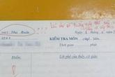 Nhầm tên trường trong bài kiểm tra, nữ sinh lớp 10 bị cô giáo nói nhẹ nhưng cũng đủ toát mồ hôi