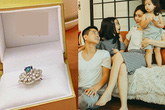 """Chưa đến 8/3, Hồ Hoài Anh đã tặng vợ nhẫn kim cương và nói """"Anh yêu em"""""""