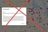 Bản đồ dịch COVID-19 tại Hà Nội đang được lan truyền: Google nói gì?