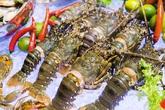 Hải sản trong nước giảm giá mạnh, có những loại chỉ thường xuất hiện ở nhà hàng giờ bán đầy chợ