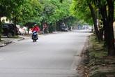 Đường phố vắng trở lại sau khi báo chí phản ánh người Hà Nội có tư tưởng chủ quan trong phòng chống dịch COVID-19