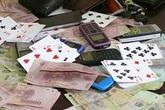 Bắc Giang: Xử phạt 6 đối tượng đánh bạc giữa mùa dịch COVID-19 54,5 triệu đồng