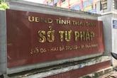 """Vụ án """"Đường Nhuệ"""": Đình chỉ sinh hoạt đảng 2 cán bộ Sở Tư pháp"""
