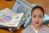 Nữ chủ quán gội đầu trộm gần 13 triệu của khách ở phố núi Hà Tĩnh