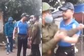 Hải Dương: Bị nhắc vì không đeo khẩu trang, người đàn ông lăng mạ, dọa đánh thành viên chốt kiểm dịch