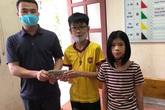 Bộ GD&ĐT tặng bằng khen cho học sinh ở Hà Tĩnh trả lại 50 triệu đồng nhặt được
