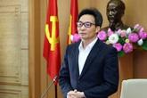 Phó Thủ tướng Vũ Đức Đam cảm ơn người dân đồng lòng chống dịch dù chịu không ít bất tiện, thiệt thòi