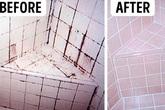 Quên chai nước tẩy nồng nặc hóa chất đi, vết bẩn đen xì trên kẽ gạch nhà tắm sẽ sạch bách nhờ thứ dung dịch mua hiệu thuốc nào cũng có