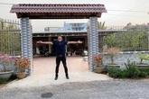 Showbiz đóng băng vì Covid-19, Minh Luân về quê cải tạo cơ ngơi rộng 3.000 m2