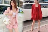 """Nhìn Sĩ Thanh, Hoàng Thuỳ Linh mà xem, blazer không chỉ mặc đi làm còn diện """"chanh sả"""" lên phố"""