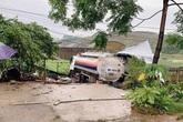Phú Thọ: Ngủ trong lán, 2 vợ chồng bị xe bồn tông thương vong