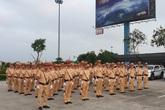 Lực lượng CSGT đồng loạt ra quân tổng kiểm soát các loại phương tiện