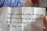 """Bắc Giang: Bé trai 5 tuổi bị cha ruột bỏ rơi ở trụ sở tòa án kèm bức thư có nội dung """"tôi không đẻ, tôi không nuôi"""""""