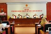 Kỳ họp thứ 9, Quốc hội khóa XIV: ĐBQH đăng ký phát biểu, biểu quyết qua iPad