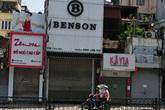Hàng loạt cửa hàng trên trục đường kinh doanh sầm uất Chùa Bộc - Thái Hà tìm người thuê mới