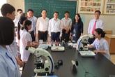 Thứ trưởng Trần Văn Thuấn làm việc với 2 cơ sở đào tạo nhân lực y tế ở Hải Dương