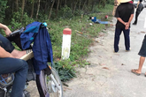 Hà Tĩnh: 4 học sinh đi một xe máy đâm vào cột mốc, 2 em tử vong tại chỗ