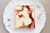 Những lát bánh mì đẹp như tranh vẽ