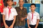 2 học sinh nhặt được của rơi trả lại, không nhận tiền cảm tạ