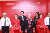 Khánh thành ngôi trường đầu tiên được xây dựng theo chuẩn quốc gia tại Long Khánh, Đồng Tháp