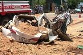 Xác định danh tính 3 người tử vong trong vụ xe tải chở đất đá đè bẹp xe con.