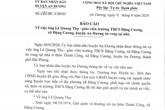 Hải Phòng: Bất ngờ trước cái chết của thầy giáo dạy nhạc trường THCS Đặng Cương