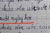"""Yêu cầu học sinh tìm tiếng có vần """"uốt"""", cô bé làm ngon ơ nhưng đáp án thứ 3 không sai vẫn khiến cô giáo toát mồ hôi"""