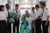VIDEO: BN 91 nói lời cảm ơn và sẽ sớm trở lại Việt Nam