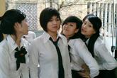 """4 cô gái xinh đẹp của """"Bộ tứ 10A8"""" giờ ra sao?"""