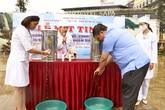 Hơn 86% số hộ gia đình ở Sapa sử dụng nước hợp vệ sinh