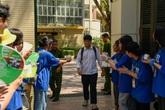 Môn Ngữ văn thi vào lớp 10 tại Hà Nội: Thí sinh mừng rỡ vì làm được bài