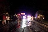 Xe khách gây tai nạn kinh hoàng tại Bình Thuận, 8 người chết thảm